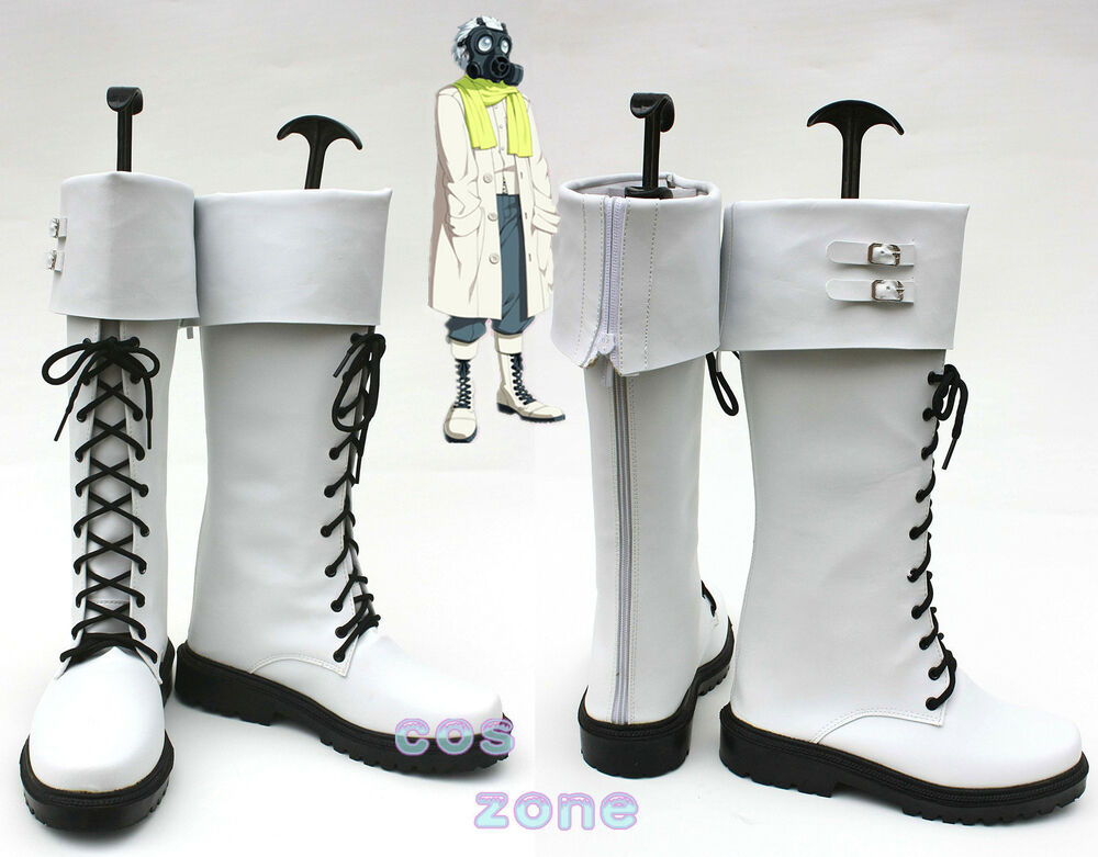 DMMD Dramatical Murder Clear Cosplay Shoes Boots ...