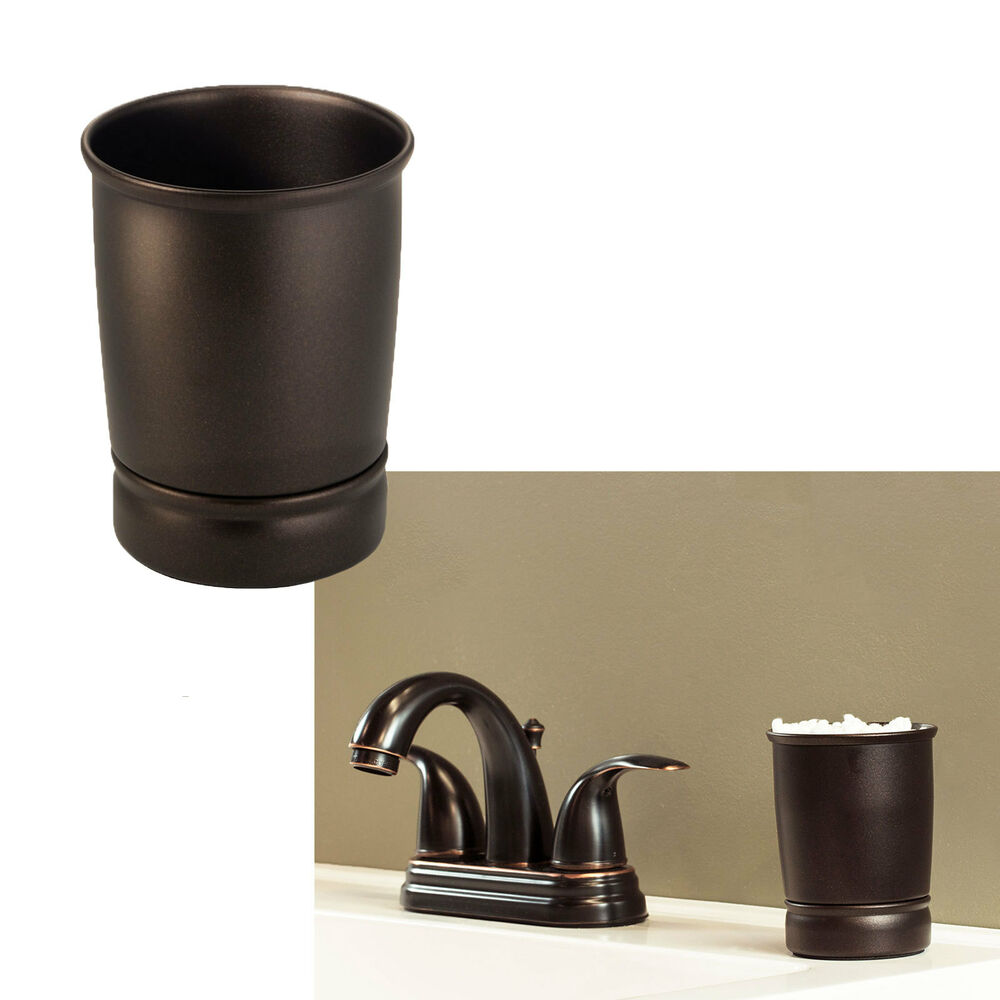Bathroom tumbler cup bath sink accessories oil rubbed - Rubbed oil bronze bathroom accessories ...