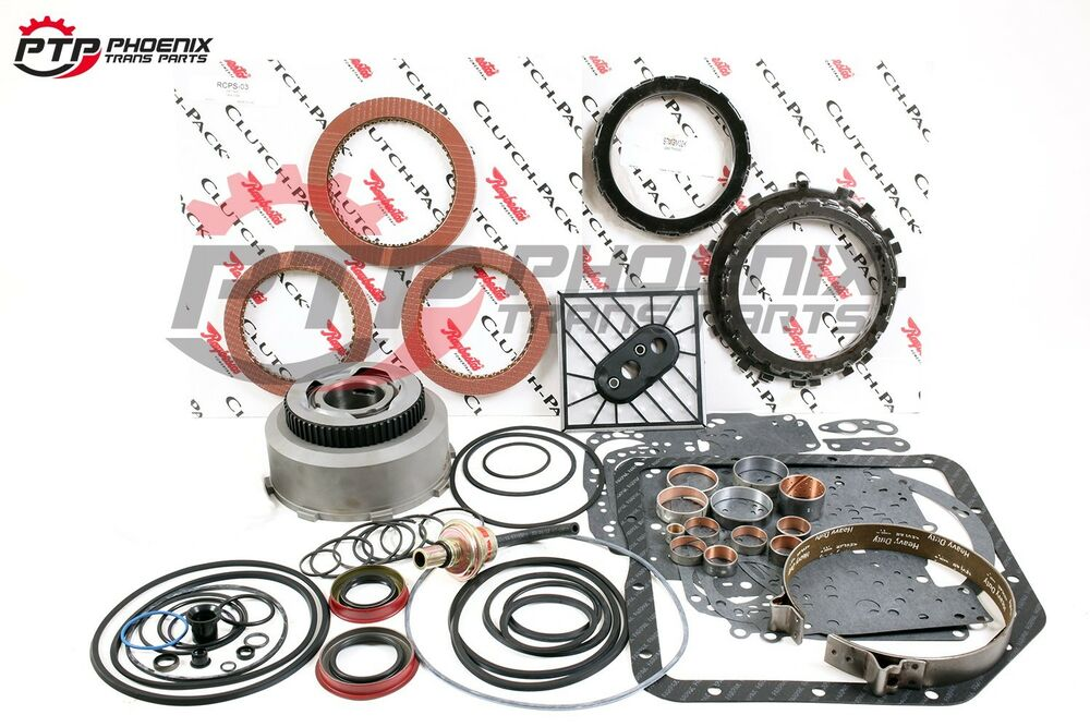 Turbo 350 Transmission High Performance Rebuild Kit 69 79 Level 4 Stage 1 Chevy