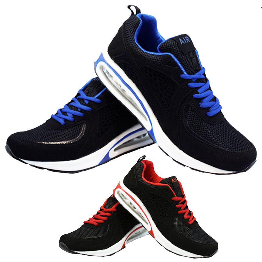 1f9f7cac7f MENS RUNNING TRAINERS BOYS GYM WALKING SHOCK ABSORBING AIR SPORTS SHOES  SIZE NEW