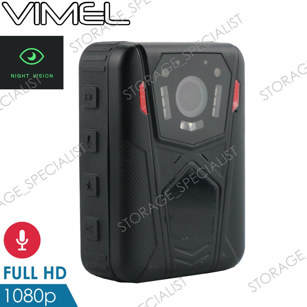 Police camera security guard body recorder vimel full hd 1080p night vision cam ebay - Security guard hd images ...