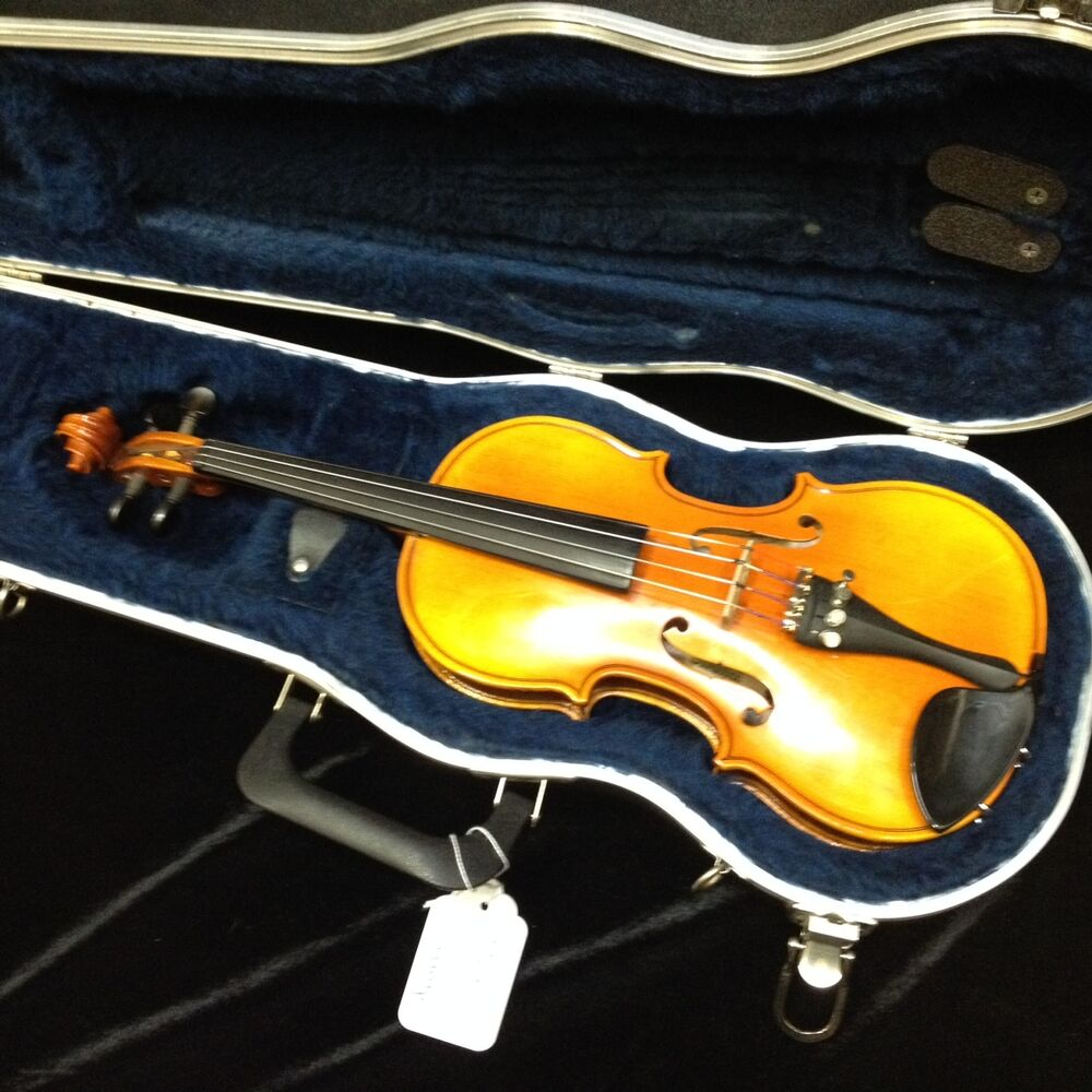 strunal 1 4 size violin with case ready to play ebay. Black Bedroom Furniture Sets. Home Design Ideas