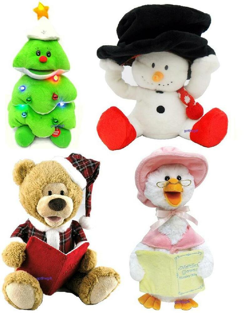 Cartoon Christmas Toys : Animated musical singing and dancing christmas toys xmas