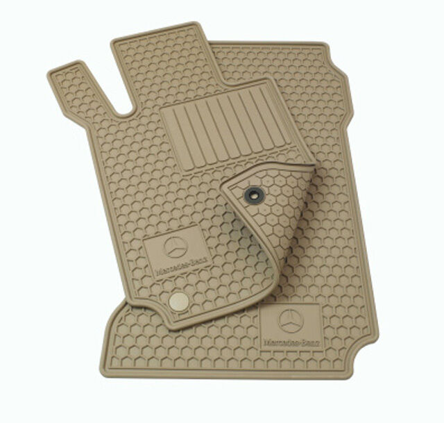 Oem genuine mercedes benz beige all season floor mats e for Mercedes benz e350 floor mats