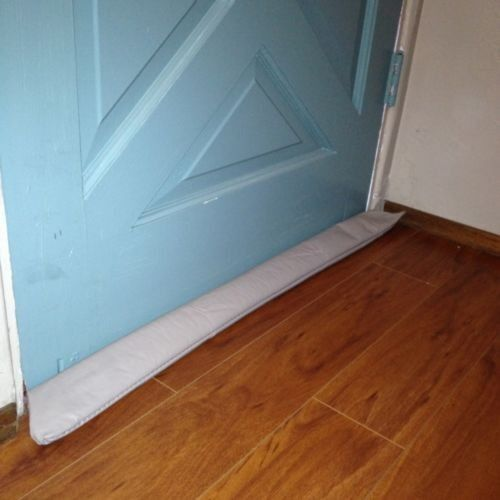 Door draft stopper guard blocker save energy cold air for Door draft stopper