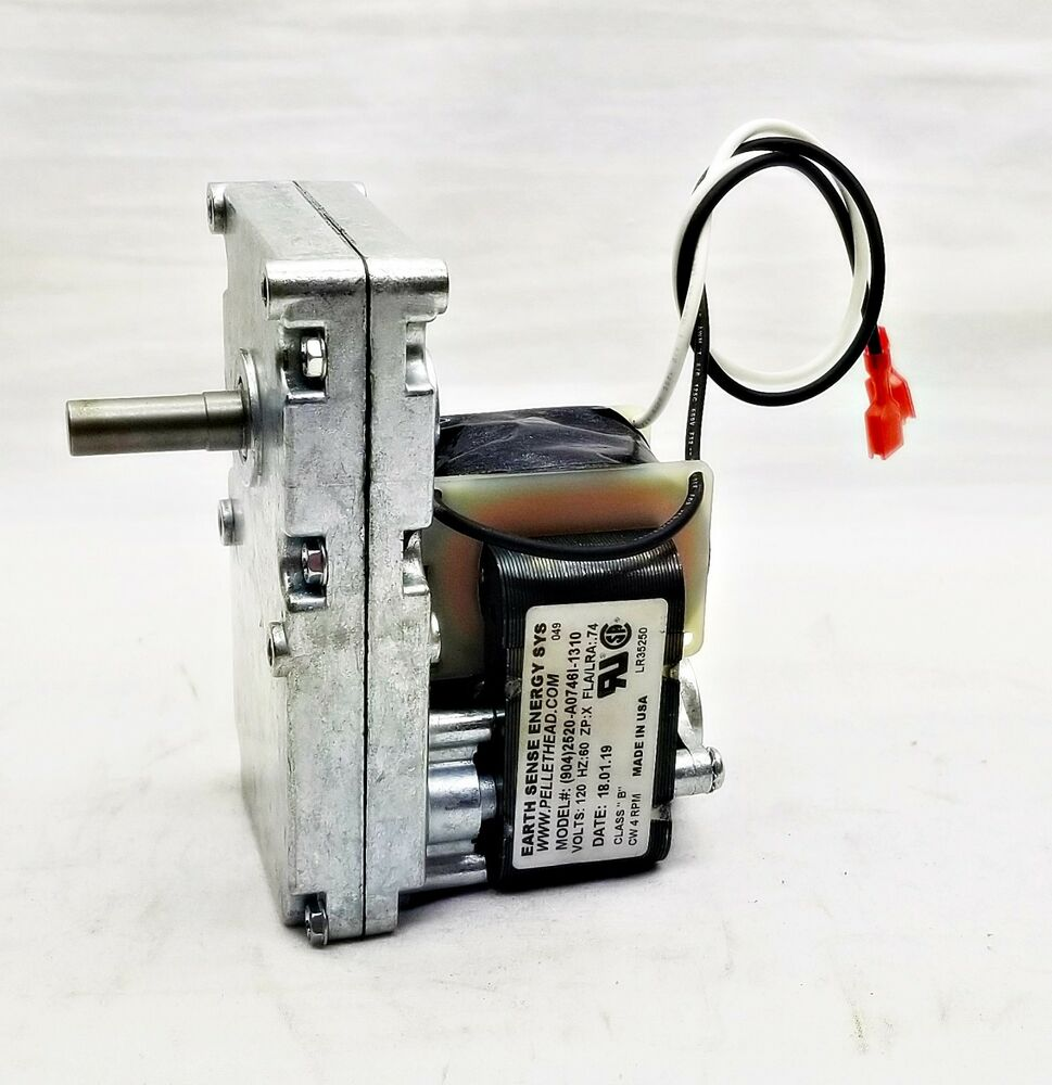 Harman Pellet Stove Auger Feed Motor 3 20 60906 4 Rpm Cw