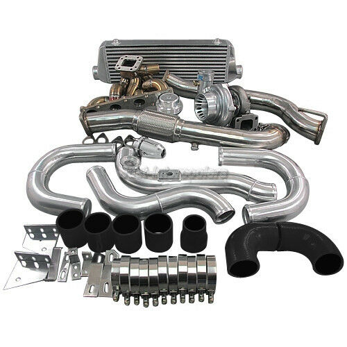 Supercharged Mustang Surging: TOP MOUNT GT35 TURBO INTERCOOLER MANIFOLD Kit FOR 08