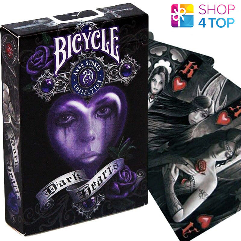 Bicycle Anne Stokes Dark Hearts Playing Cards Deck Fantasy