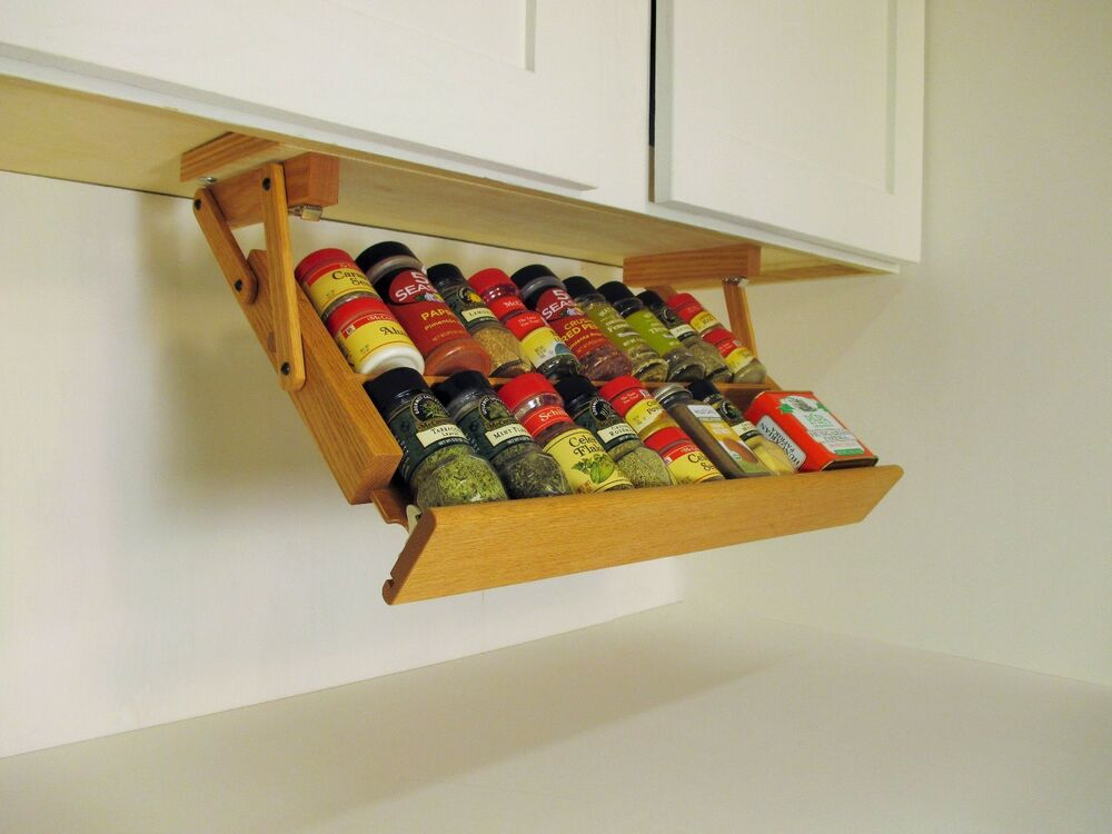 under cabinet spice rack cabinet spice rack by ultimate kitchen storage 27530