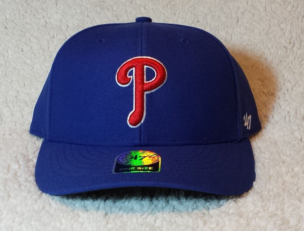 new style 052be 0f21d ... closeout philadelphia phillies blue cap mlb 47 brand mvp adjustable hat  new with tags n ebay