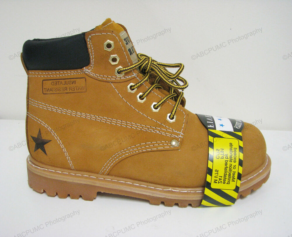 Water Resistant Work Shoes Men