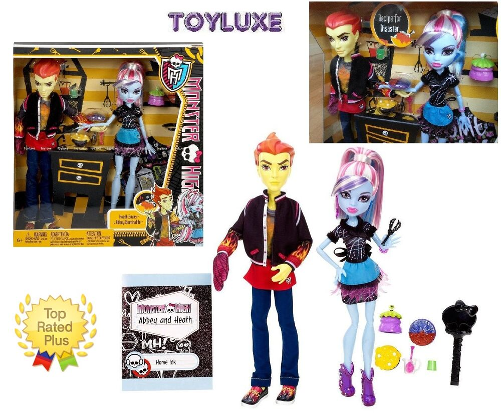 monster high home ick double the recipe heath burns