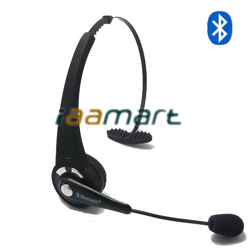 wireless headphone bluetooth headset with microphone for ps3 laptop pc ebay. Black Bedroom Furniture Sets. Home Design Ideas