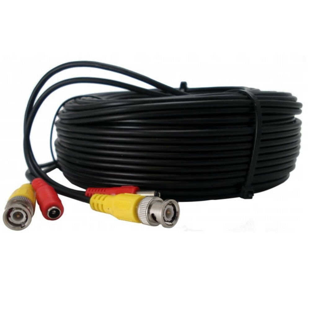 Security Camera Cable Cctv Power Wire 10ft 20ft 30f 50f
