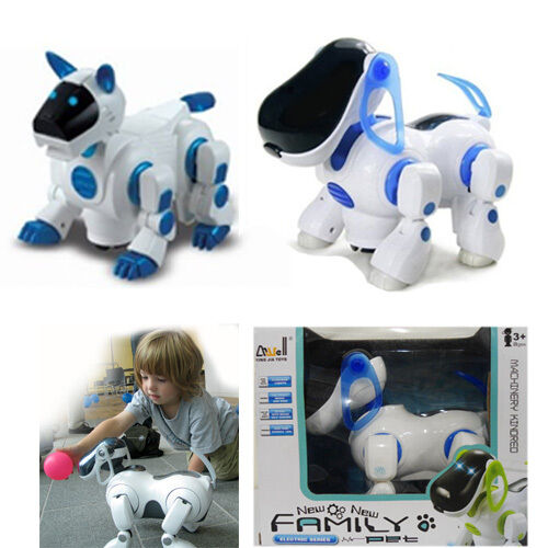 Robot pets versus real pets for