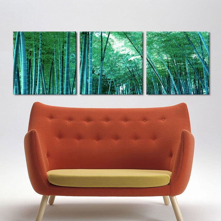 how to hang three panel pictures