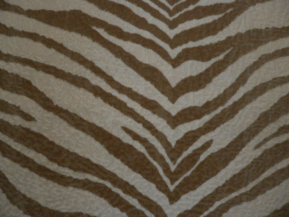 Drapery upholstery fabric bengal tiger textured animal for Upholstery fabric
