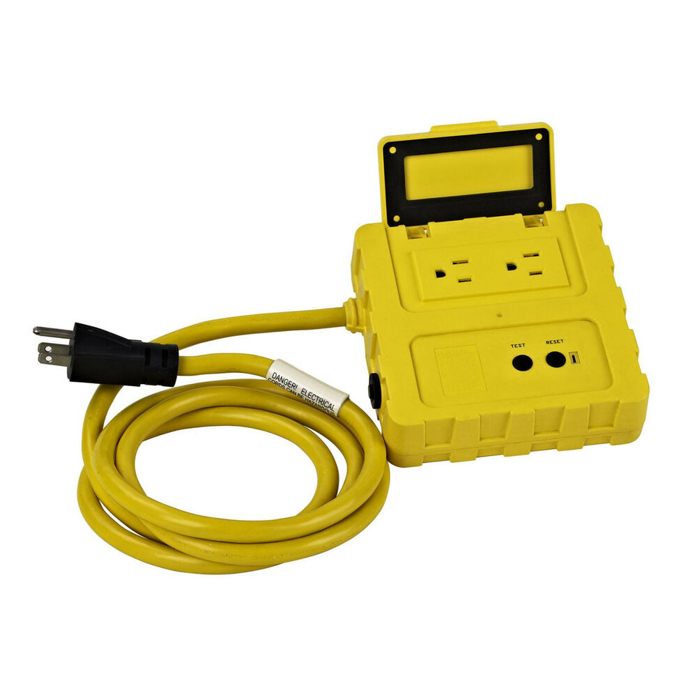 Ground Fault Circuit Interrupter : Ground fault circuit interrupter w two a