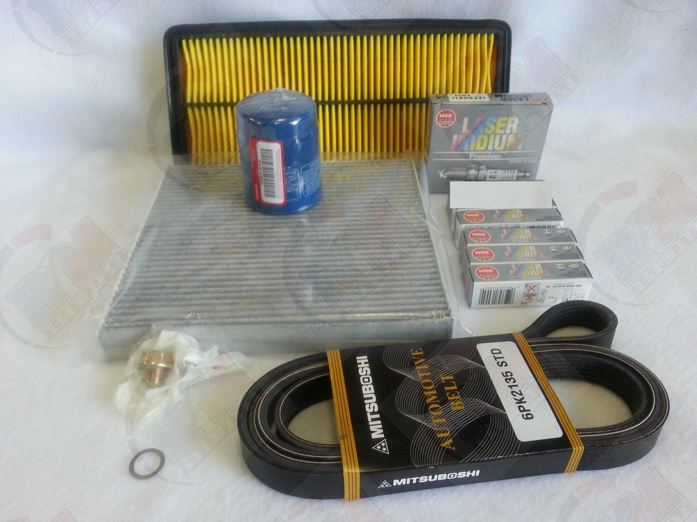 2004 Acura Rsx Type S >> Tune-Up-Kit- NGK Spark Plug Filter Belt Kit 2003-2007 ...