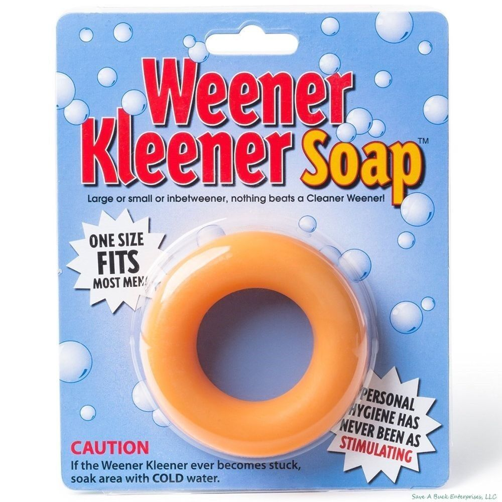 Weener Kleener Soap Weiner Cleaner - Joke Gag Gift Party Adult Gag ...