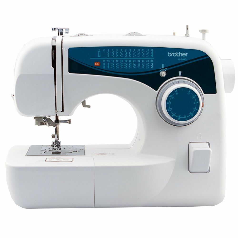 Brother sew advance sew affordable 25 stitch free arm for Machine a coudre xl 2600 brother