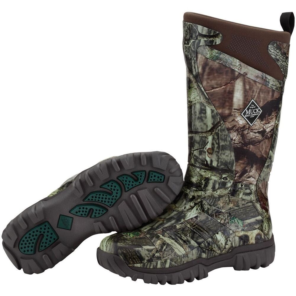 New muck pursuit supreme all terrain hunting boots ice for Ice fishing boots