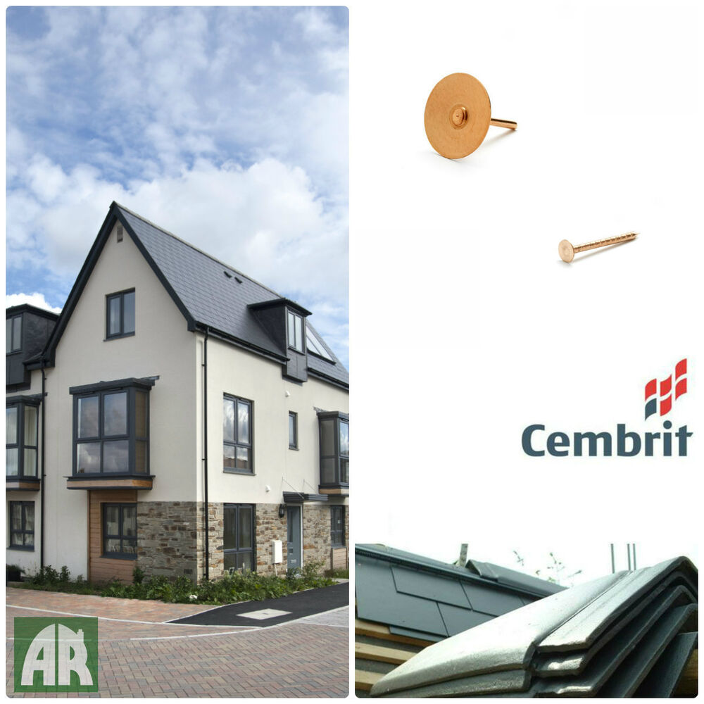 Cembrit Fibre Cement Slates Roof Tiles Smooth Or