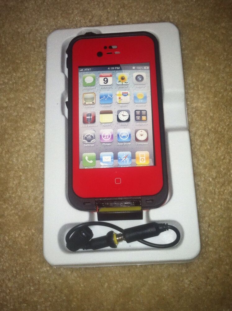 iphone 4s waterproof case redpepper waterproof iphone 4 4s ebay 14459