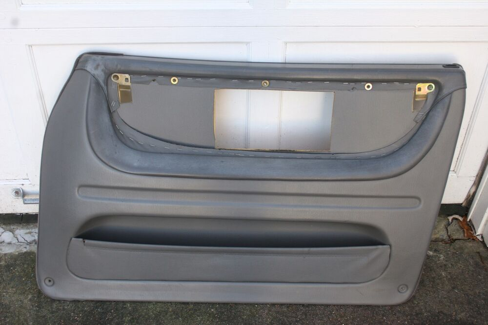 86 94 classic saab 900 1991 convertible right passenger side grey door panel ebay. Black Bedroom Furniture Sets. Home Design Ideas