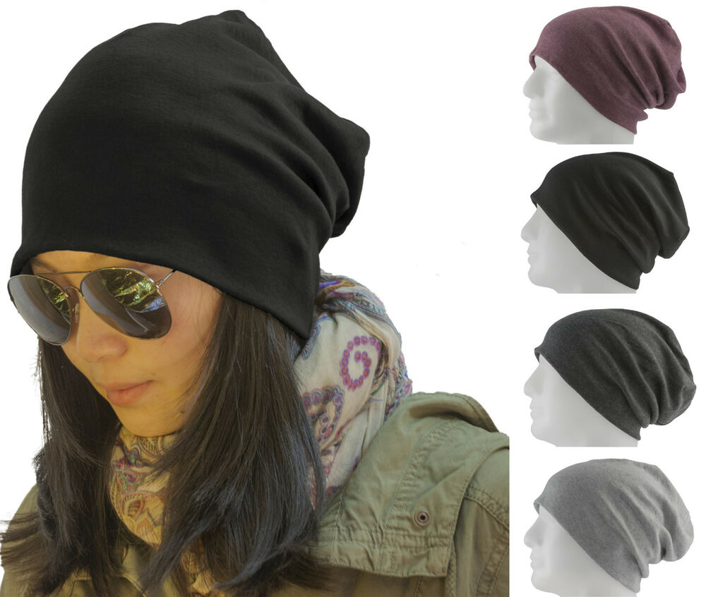 long beanie xxl m tze slouch trend damen herren kinder unisex m tzen 19 farben ebay. Black Bedroom Furniture Sets. Home Design Ideas