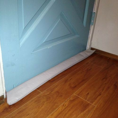Door draft stopper guard blocker save energy cold weather for Windows for cold climates
