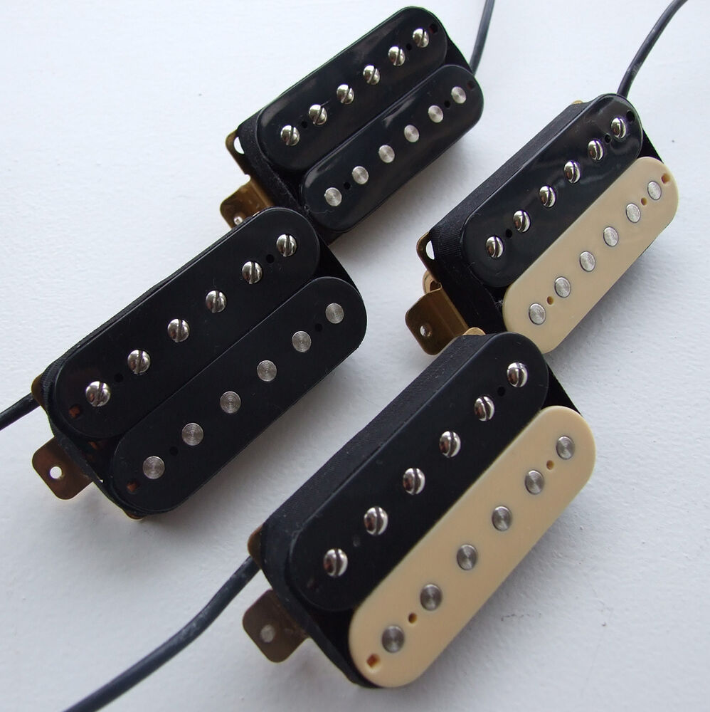 39 60 vintage paf style alnico v humbucker pickups for les paul sg type guitar ebay. Black Bedroom Furniture Sets. Home Design Ideas