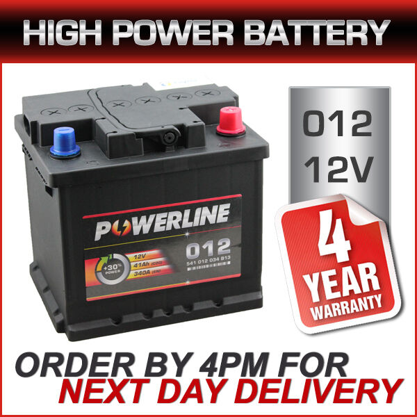 012 powerline 079 12v car battery fits many alfas audi bmw citroen dacia fiat ebay. Black Bedroom Furniture Sets. Home Design Ideas