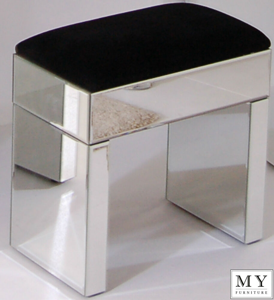 Mirrored furniture console table stool ebay
