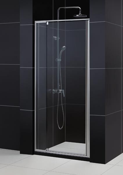 48 quot x 72 quot flex 1 4 quot glass frameless pivot shower door enclosure ebay