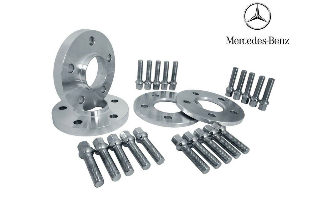 Mercedes benz 5x112 wheel spacers kit 10mm 12mm fits for Mercedes benz lug pattern