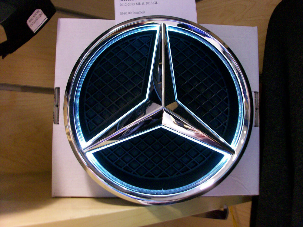 Oem genuine mercedes benz full time illuminated star kit for Mercedes benz led star