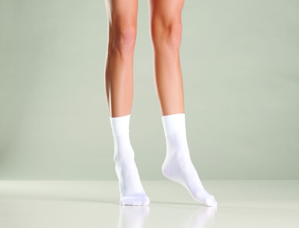 nwt WOMENS sexy BE WICKED nylon CUFF ankle SOCKS anklets ...
