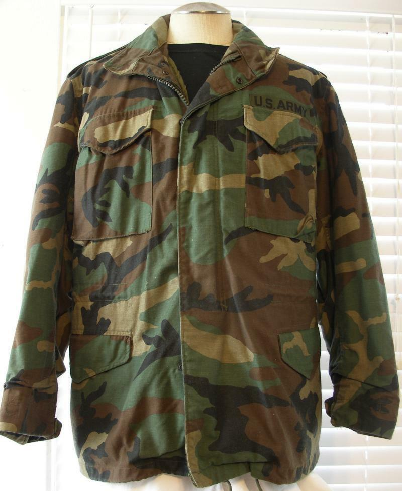 army us alpha isratex woodland camo camouflage hood cold. Black Bedroom Furniture Sets. Home Design Ideas