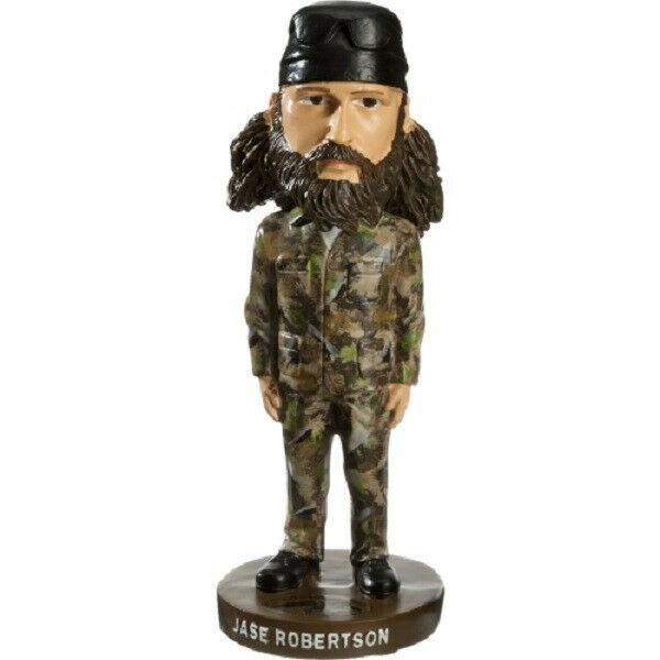 Jase Robertson Duck Commander Dynasty Collectible Resin Bobblehead