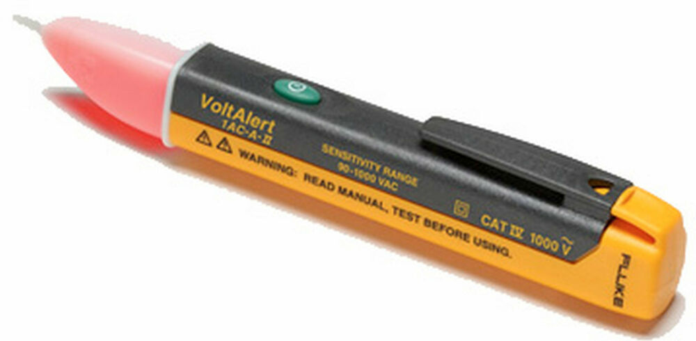 All In One Electrical Testers : Fluke ac ii a voltalerttm electrical tester non contact