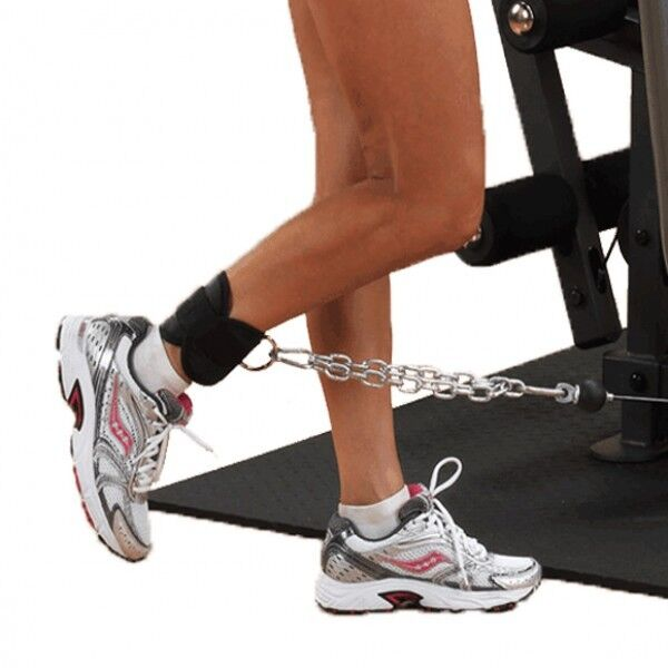 Neoprene Weight Lift Training Workout Gym Palm Exercise: EVO Weight Lifting Ankle Cuff Cable Attachment Neoprene