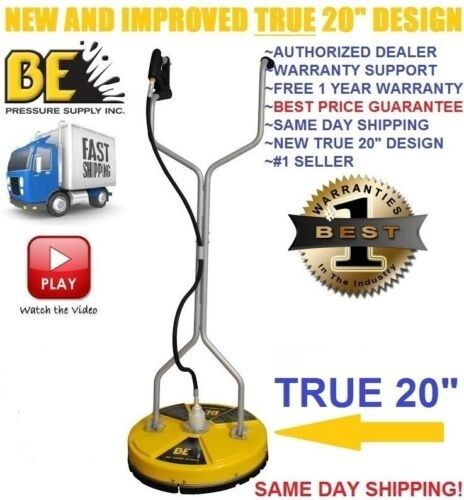 Be pressure whirl a way 20 39 39 flat surface cleaner washer for The best concrete cleaner