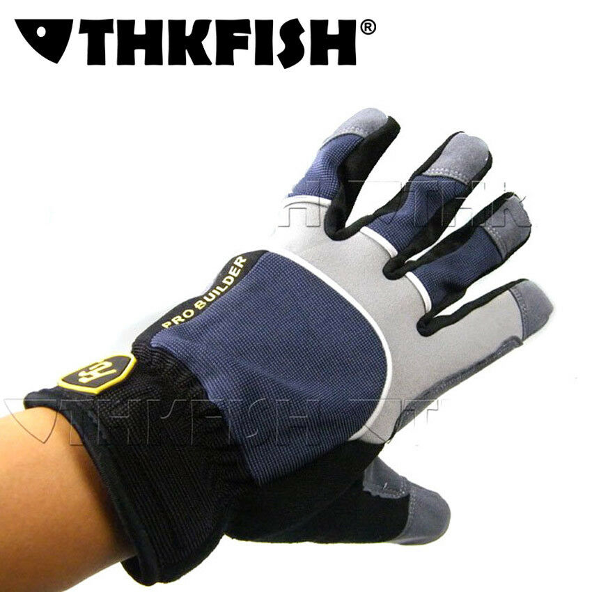 Fg pro builder winter warm gloves ice jigging fishing for Winter fishing gloves
