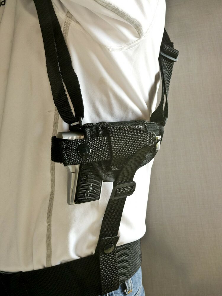 Raven Arms P-25 | Nylon Horizontal Shoulder Holster w/ Mag ...