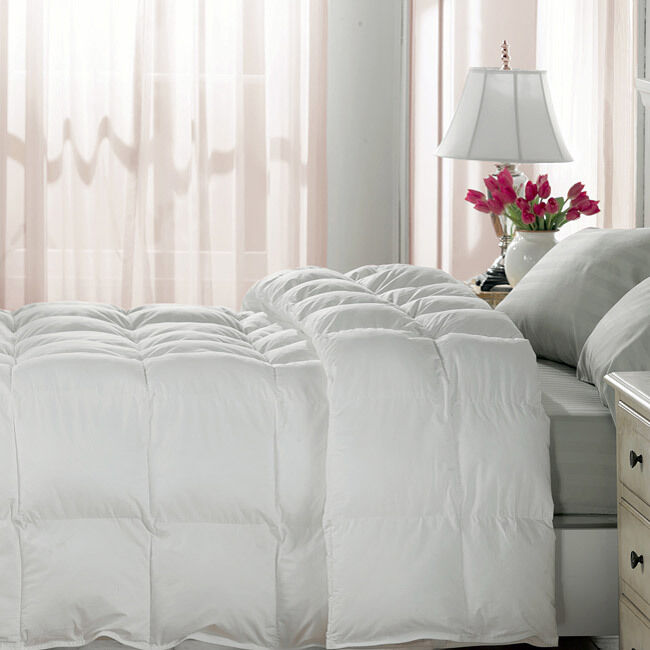 White Down Alternative Comforter Duvet Insert King White