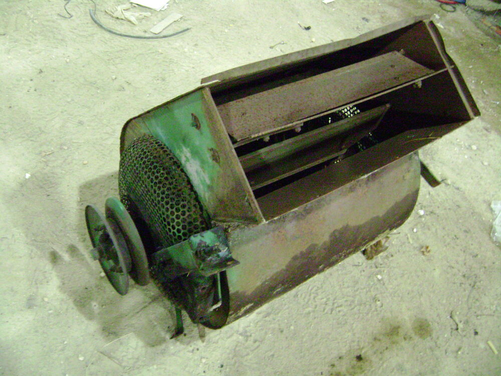 john deere 40 combine grain cleaner fan blower 45 55 95