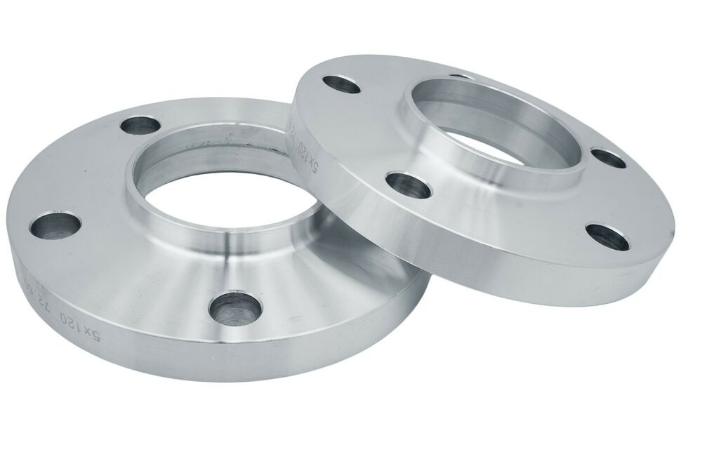 2 Pc BMW 5x120 15 MM Forged Hub Centric Wheel Spacers 72 6