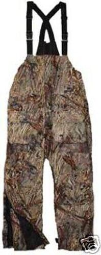 Arctic armor floating extreme weather bibs camo large ebay for Floating ice fishing suit