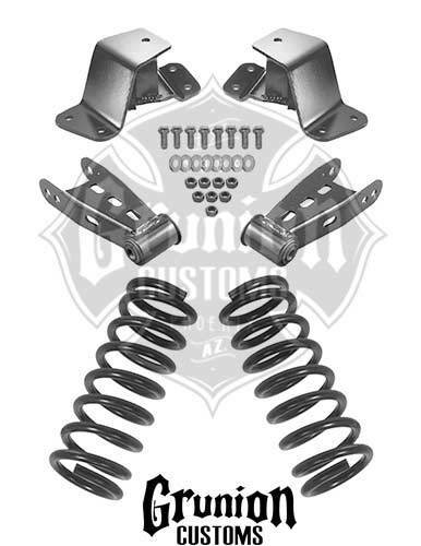 Chevy Silverado Gmc Sierra Ck 1500 24 Drop Kit 1988 1998 Mcgaughys